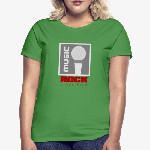MUSIC 004R - Camiseta mujer
