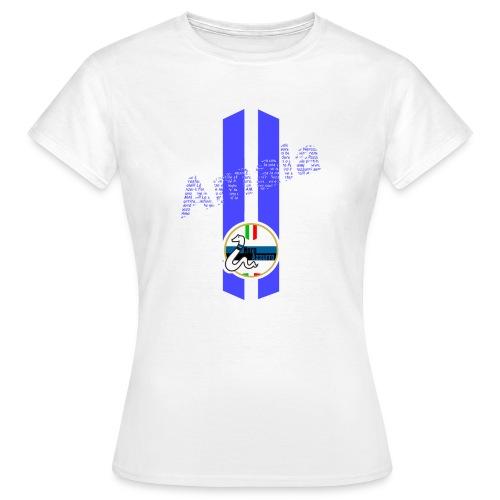 Linea Amala NeroAzzurro - Maglietta da donna