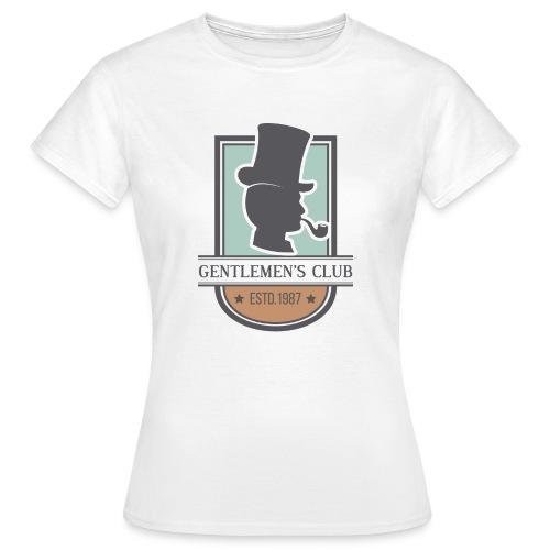 gentlemen s club - Camiseta mujer