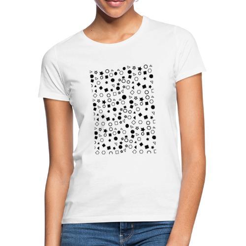 figuras geométricas - Camiseta mujer