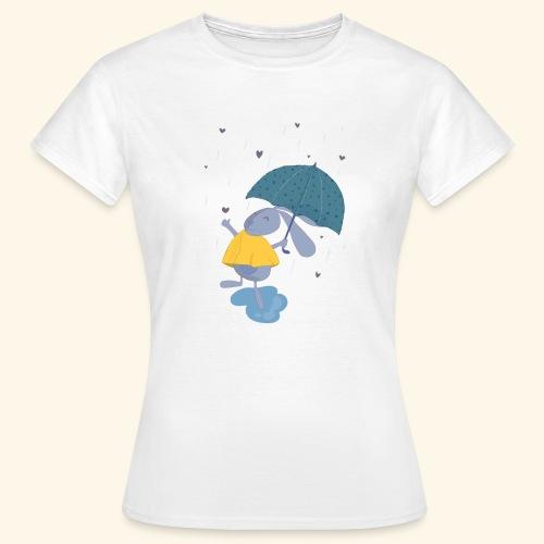 happy in the rain - Women's T-Shirt