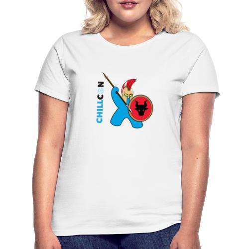 Greek Mascot - Colour - Women's T-Shirt