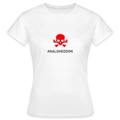 ANALGHEDDON Lustiges T-Shirt Design - Frauen T-Shirt