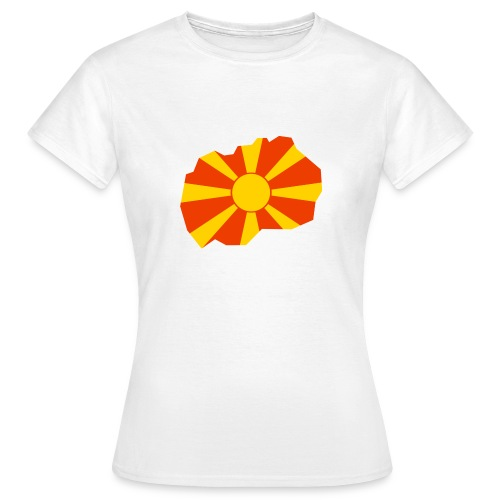 Macedonia - Vrouwen T-shirt