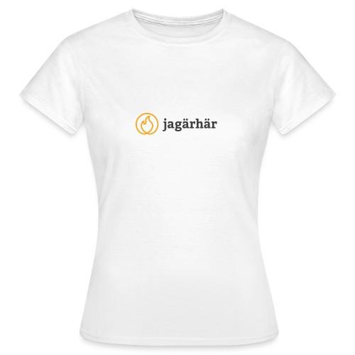 #jagärhär - T-shirt dam