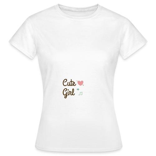 Cute girl - T-shirt Femme