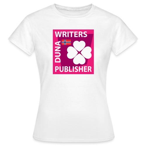 Duna Writers Publisher Pink - T-skjorte for kvinner