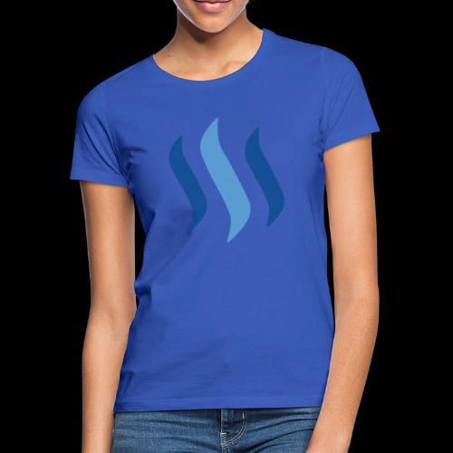 steem logo - Frauen T-Shirt