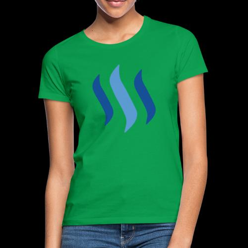 steem logo - Frauen T-Shirt