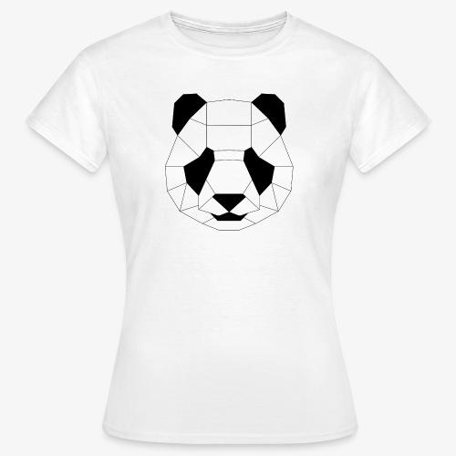 Panda schwarz - Frauen T-Shirt