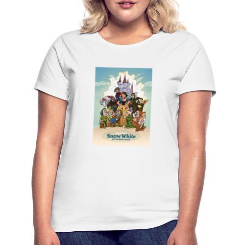 Snow White and the seven dwarfs - T-shirt Femme