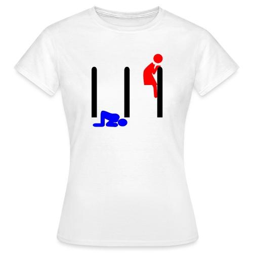 Mann und Frau - Frauen T-Shirt