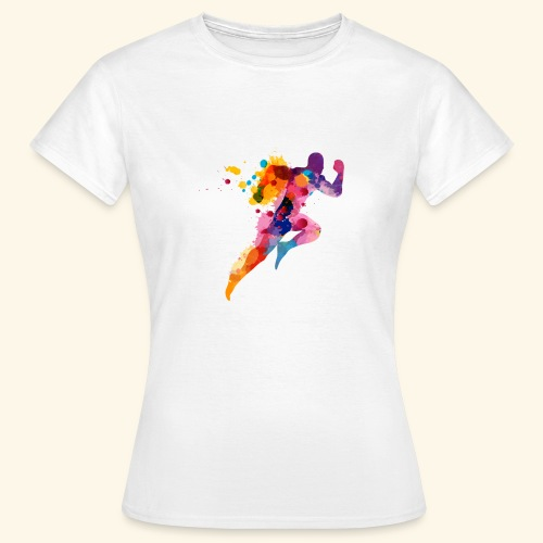 Running colores - Camiseta mujer