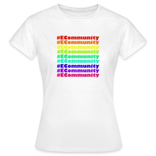 Ecommunity Rainbow - Frauen T-Shirt