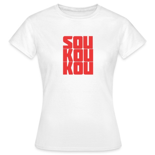 soukoukou Logo - T-shirt Femme