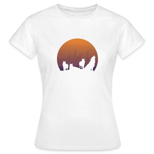 Wolfsrudel - Frauen T-Shirt