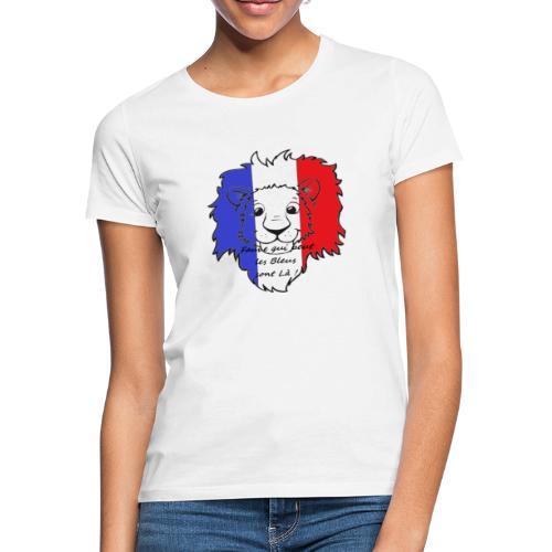 Lion supporter France - T-shirt Femme