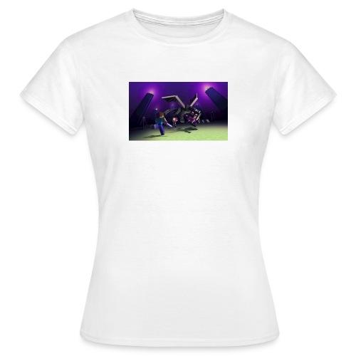 enderdraken vs steve - T-shirt dam
