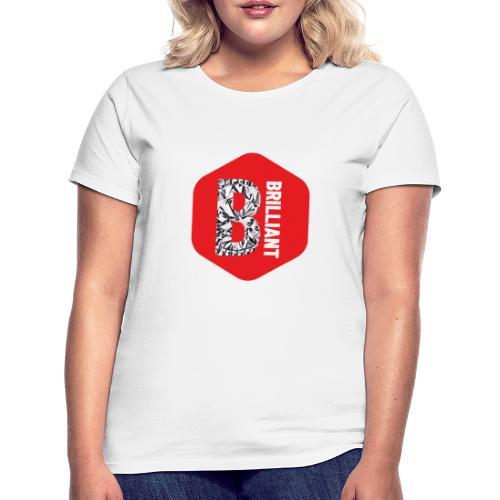 B brilliant red - Vrouwen T-shirt