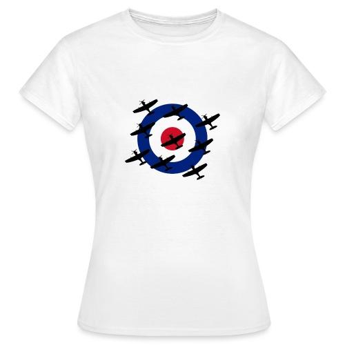 Spitfire vintage warbird - Women's T-Shirt