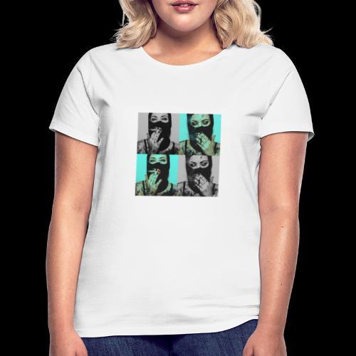 Caviar design presenting  The lady's - Frauen T-Shirt