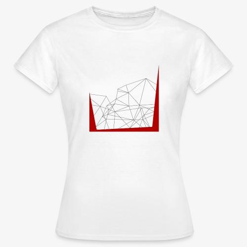 astri Abstract - Maglietta da donna