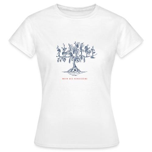 Wein des Vergessens - Frauen T-Shirt
