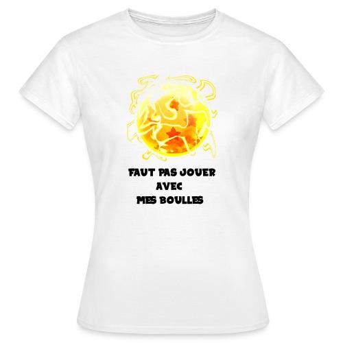 T shirt DBZ - T-shirt Femme