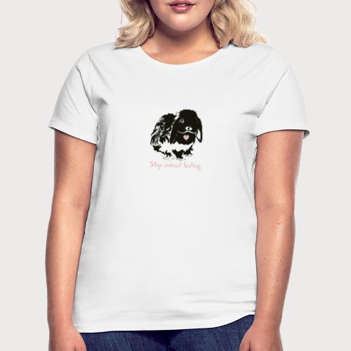 Stop animal testing - Frauen T-Shirt