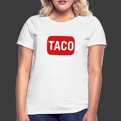 Taco Karsten Youtube Logo 2 - Dame-T-shirt