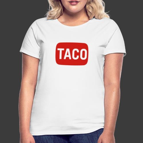 Taco Karsten Youtube Logo 2 - Dame-T-shirt