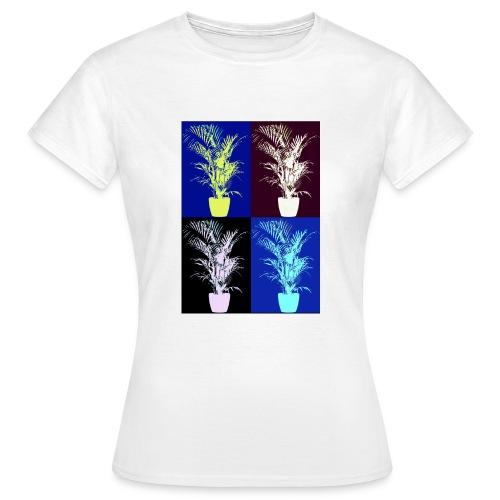 POP ART house tree - Women's T-Shirt
