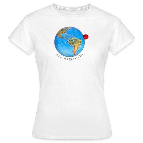 planeta-payaso-latino - Camiseta mujer