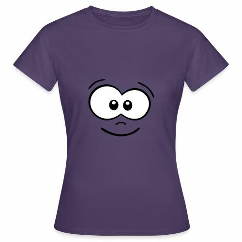 Gesicht fröhlich - Frauen T-Shirt
