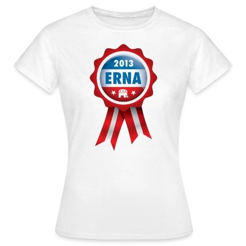 Stem Erna 2013 - T-skjorte for kvinner