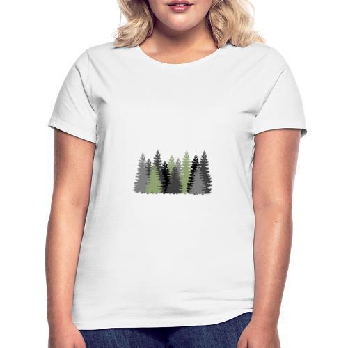 Waldbild - Frauen T-Shirt