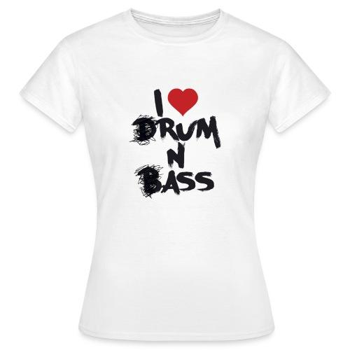 I <3 Rum N Ass - T-shirt Femme