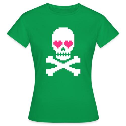 Skull Love - Vrouwen T-shirt
