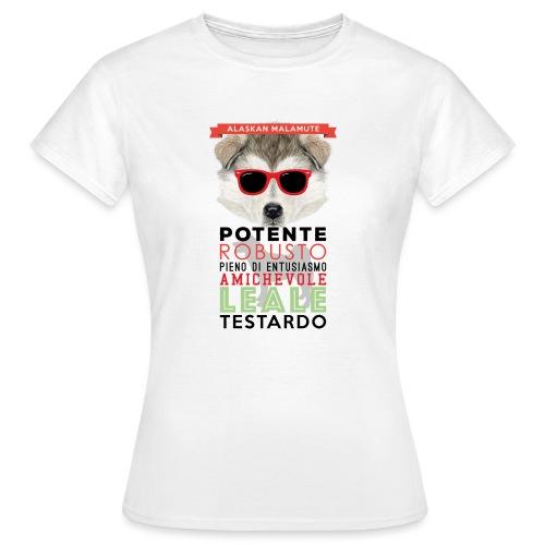 04_ALASKAN_MALAMUTE - Maglietta da donna