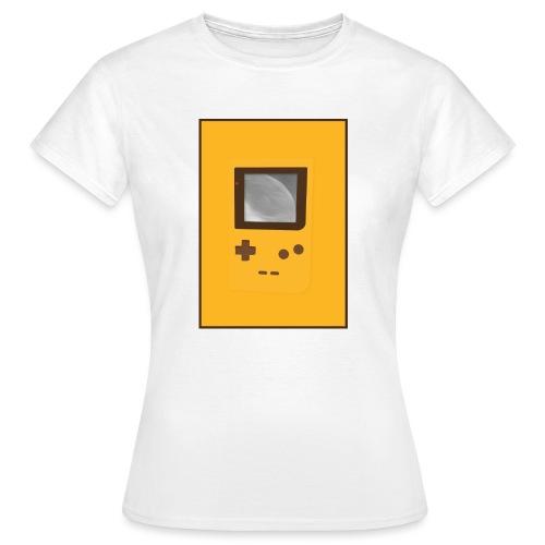 Game Boy Nostalgi - Laurids B Design - Dame-T-shirt