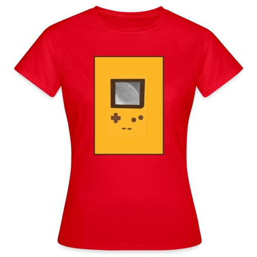 Game Boy Nostalgi - Laurids B Design - Dame-T-shirt