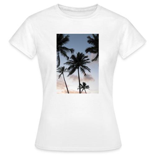 PALMTREES DOMINICAN REP. - Vrouwen T-shirt