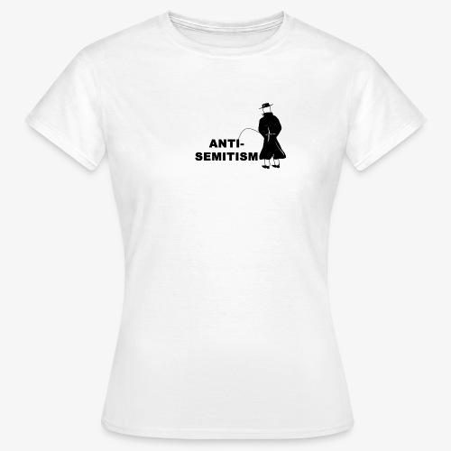 Pissing Man against anti-semitism - Frauen T-Shirt