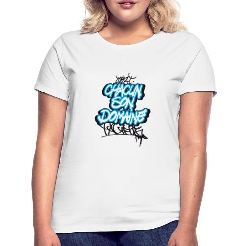 chacun son domaine - T-shirt Femme