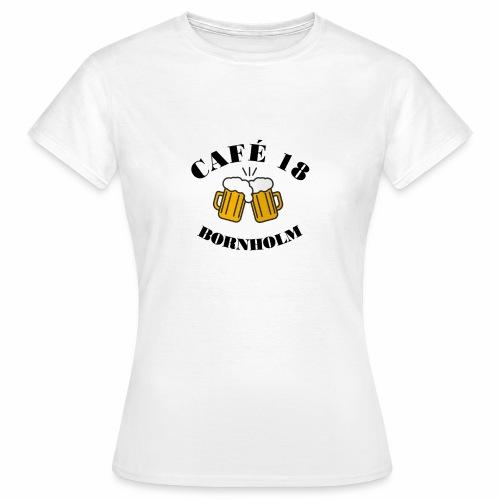 Café 18 Logo 2020 - Dame-T-shirt