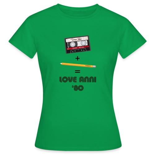 Maglietta love anni 80 - Maglietta da donna