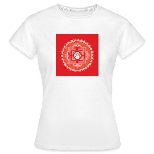 Muladhara - Root Chakra - Naisten t-paita