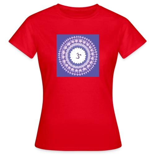 Sahasrara - Crown Chakra - Naisten t-paita