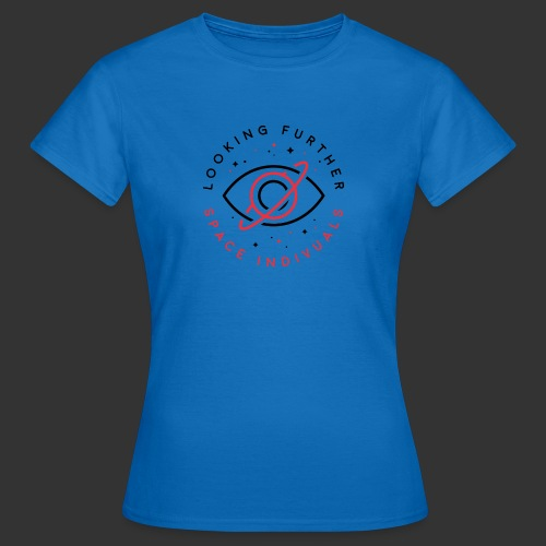 Space Individuals - Looking Further White - Women's T-Shirt