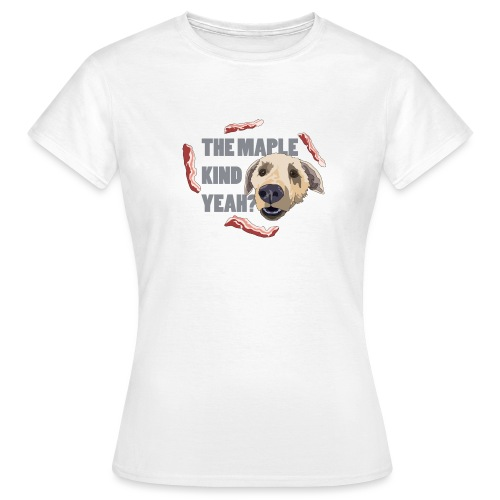 dogmaple3 - Women's T-Shirt